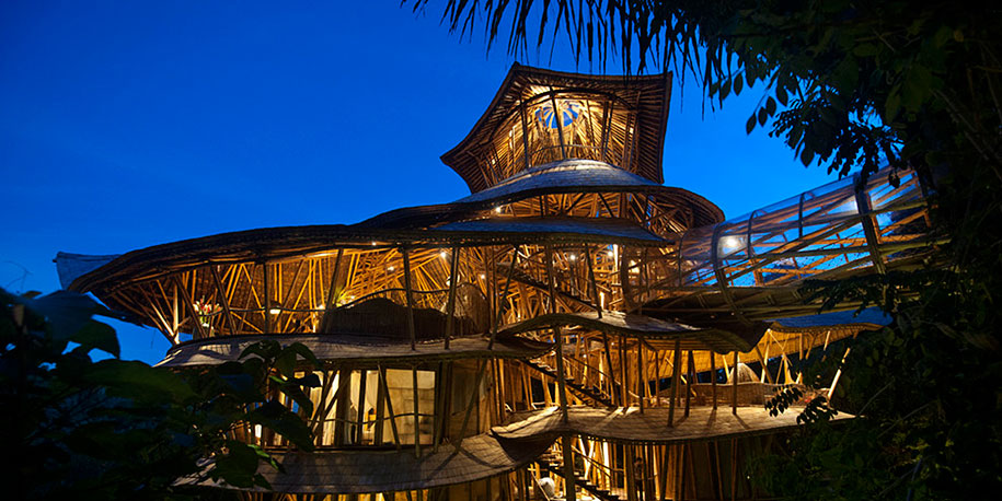 Sustainable Magic Houses In Bali, Built Using Bamboo-10