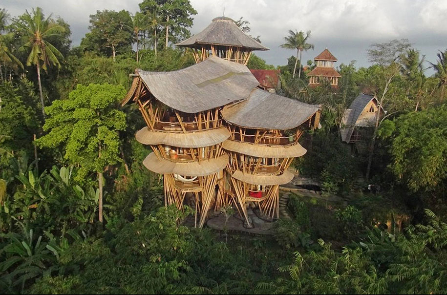 Sustainable Magic Houses In Bali, Built Using Bamboo-11