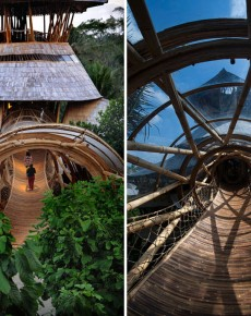 Sustainable Magic Houses In Bali, Built Using Bamboo