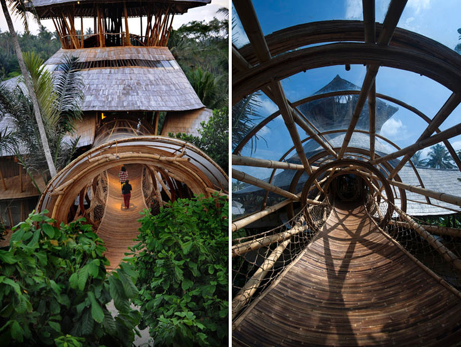 Sustainable Magic Houses In Bali, Built Using Bamboo-3