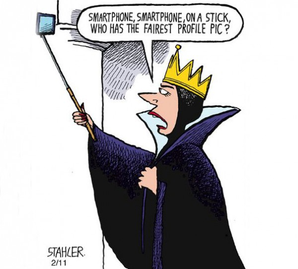 Top 15 Satirical Drawings About Addiction To Smartphones
