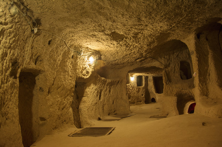 A new underground city in Cappadocia
