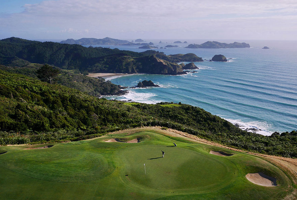 A beautiful beach in New Zealand-21 Most Beautiful Places Photographed By Drones Where Overflight Is Illegal Today-17
