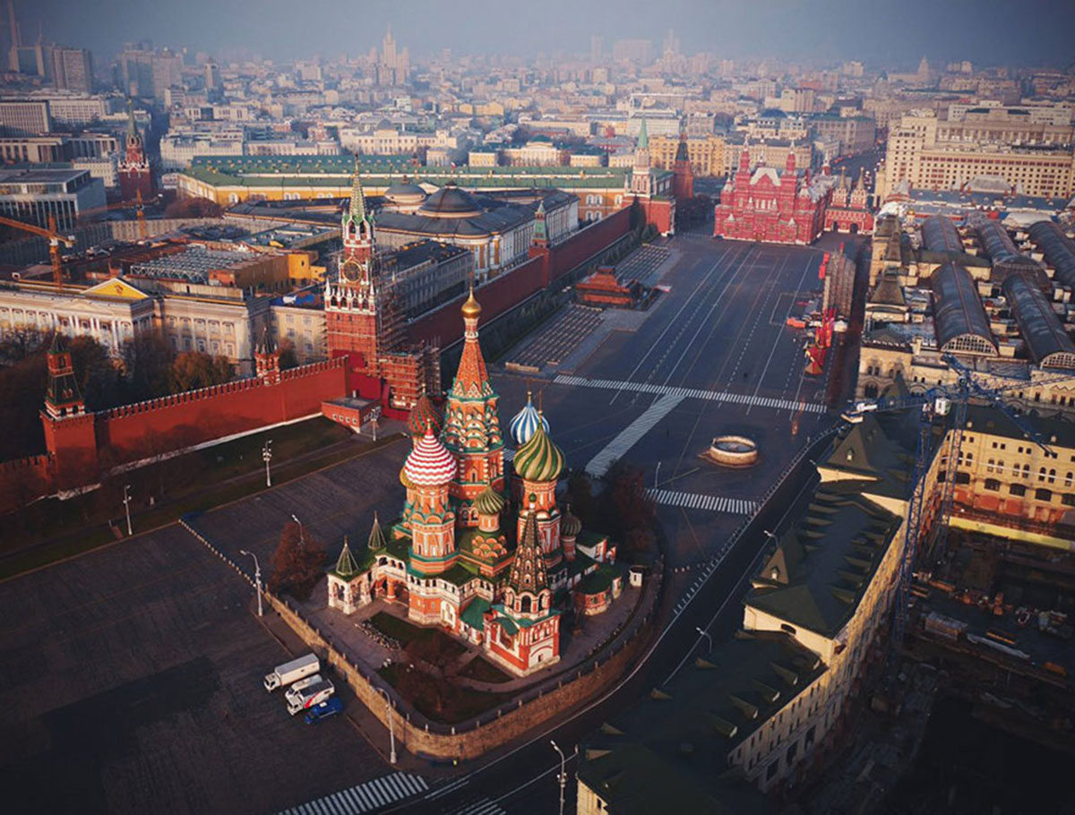 The colorful city, Russia-21 Most Beautiful Places Photographed By Drones Where Overflight Is Illegal Today-9