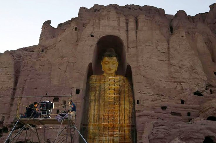 3D Hologram Technology Used To Resurrect Destroyed Buddha Statues In Afghanistan-3