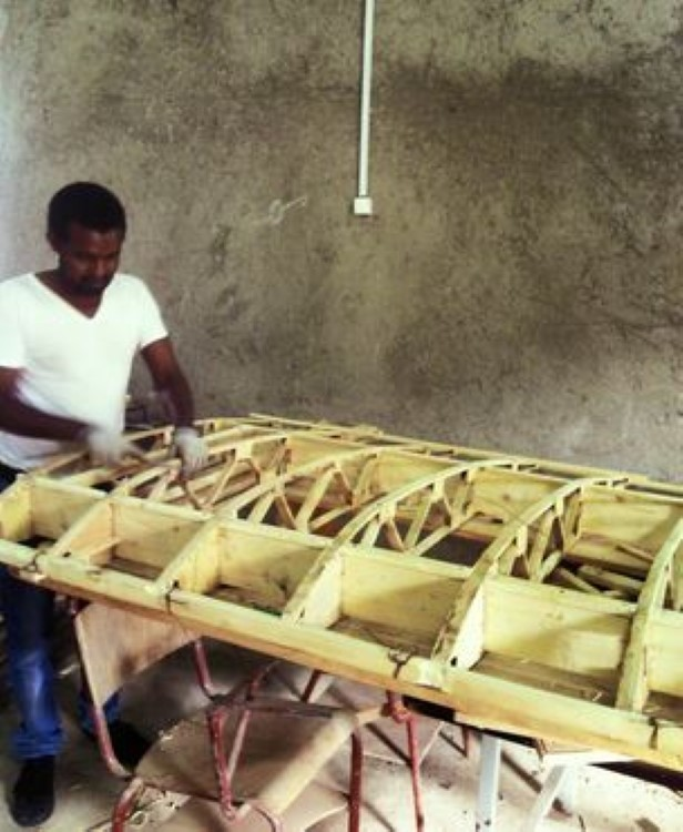 An Ethiopian Engineer Builds A Fully Functional Homemade Plane-