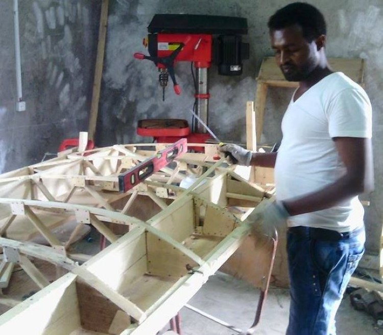 An Ethiopian Engineer Builds A Fully Functional Homemade Plane-1
