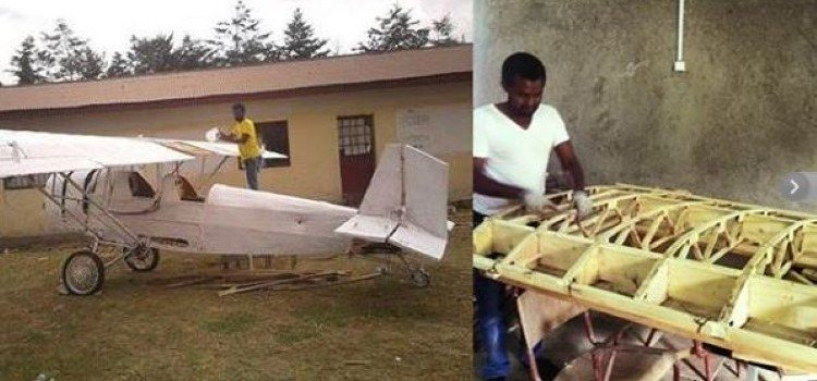 An Ethiopian Engineer Builds A Fully Functional Homemade Plane-4