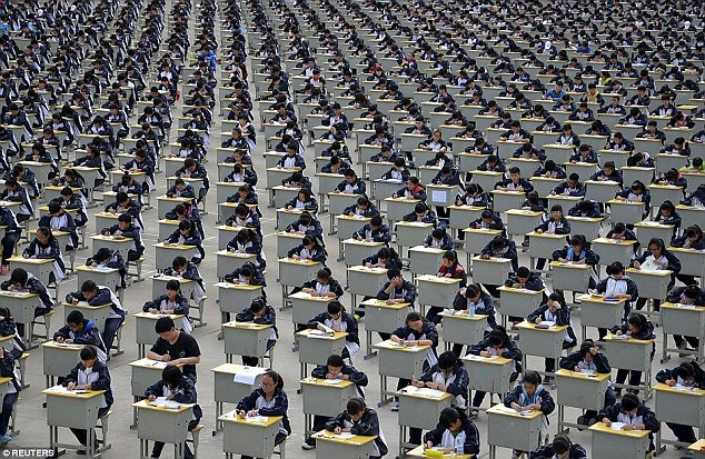 Drones Used To Stop Chinese Students From Cheating In High Stress University Examina are now using DRONES to stop students cheating in high-pressure university entrance exams-1