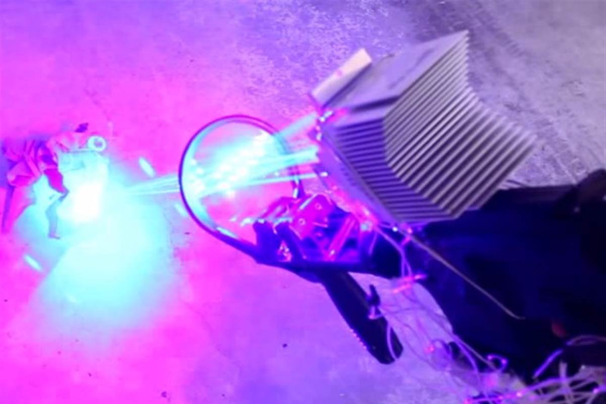 Most Powerful And Deadly DIY 'Laser Shotgun' Destroys The Household Items-2
