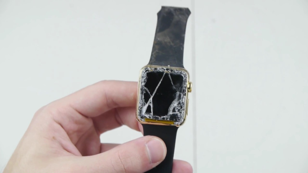 See What Happens When $10,000 Apple Watch Is Smashed By Powerful Magnets?-