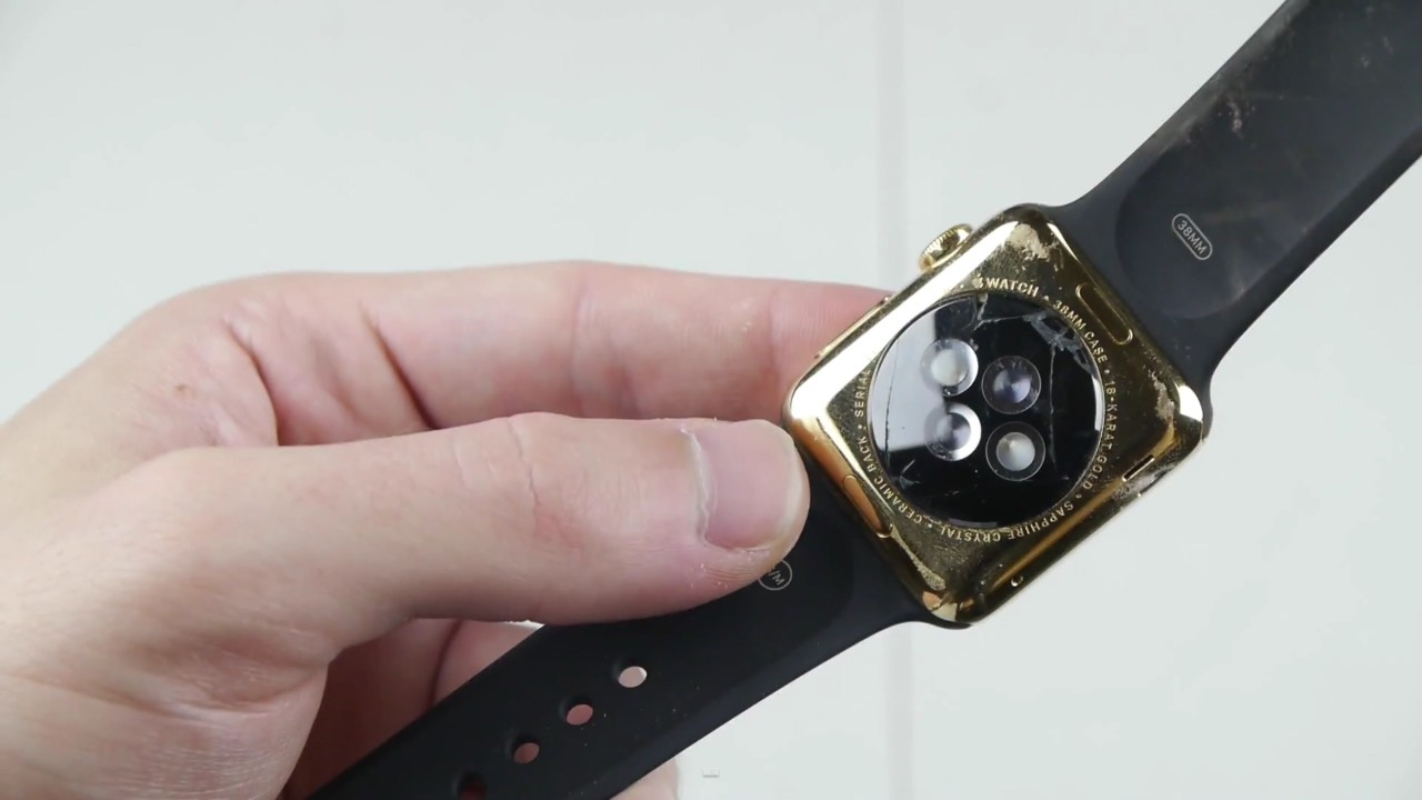 See What Happens When $10,000 Apple Watch Is Smashed By Powerful Magnets?-8