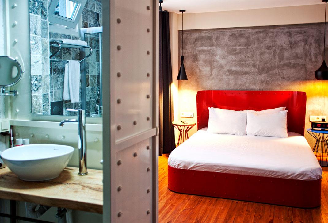 The hotel SuB Karakoy, Istanbul -Gorgeous Hotels-24