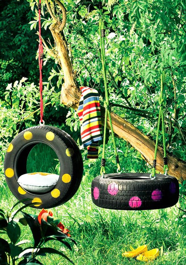 20 Creative Hacks To Reuse Old Tyres-11