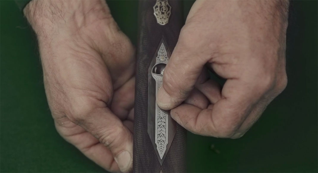 A Fascinating Film Reveals Each Step In Preparation Of A Beretta Shotgun-17