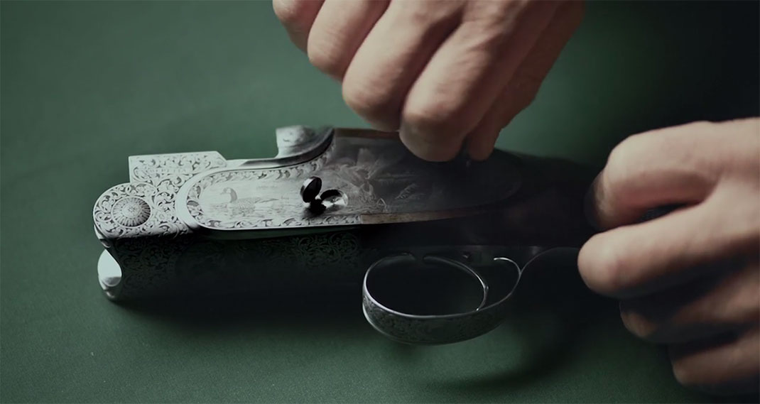 A Fascinating Film Reveals Each Step In Preparation Of A Beretta Shotgun-19
