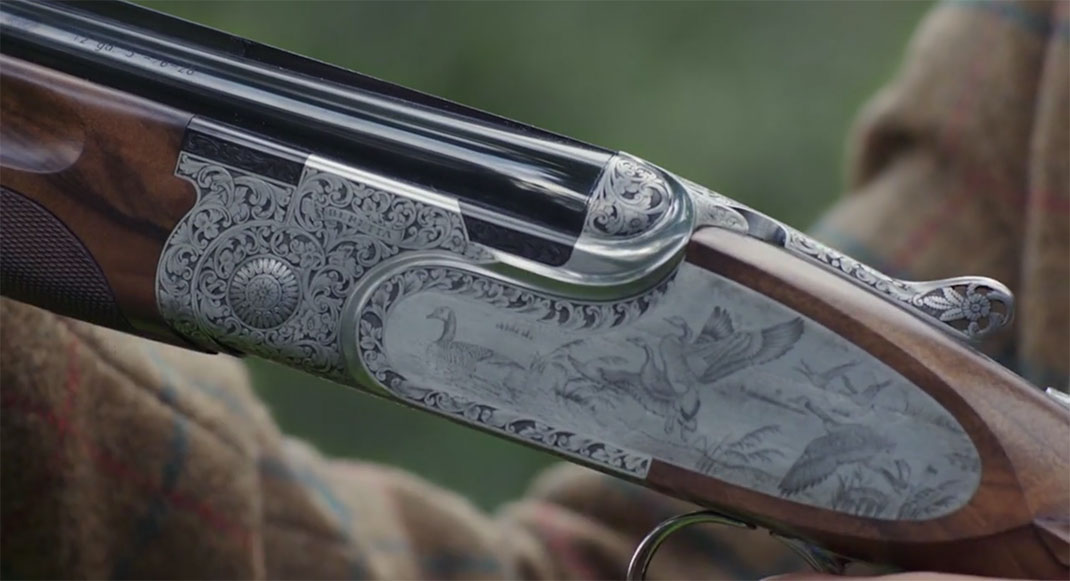 A Fascinating Film Reveals Each Step In Preparation Of A Beretta Shotgun-22