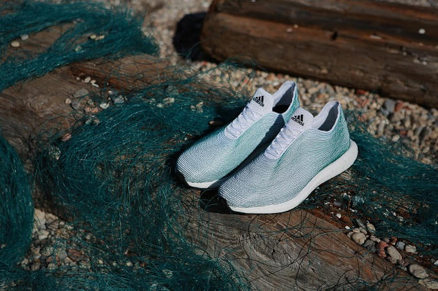 Adidas Fabricates Shoes Made Entirely From Recycled Plastics-1