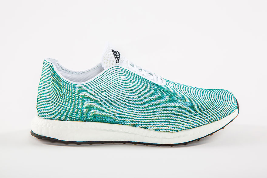 Adidas Fabricates Shoes Made Entirely From Recycled Plastics-2