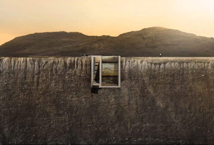 Casa Brutale: A Stunning Concept Of Home Hanging From Cliffside Over The Sea-5