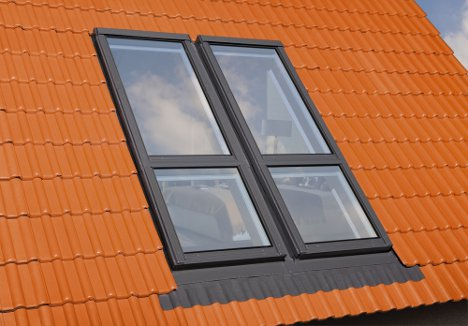 Covering the roof windows-