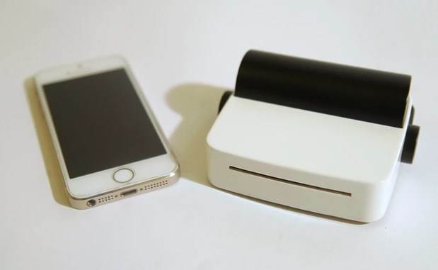 DroPrinter: This Portable Palm-Sized Printer Can Print Your Documents And Photos-