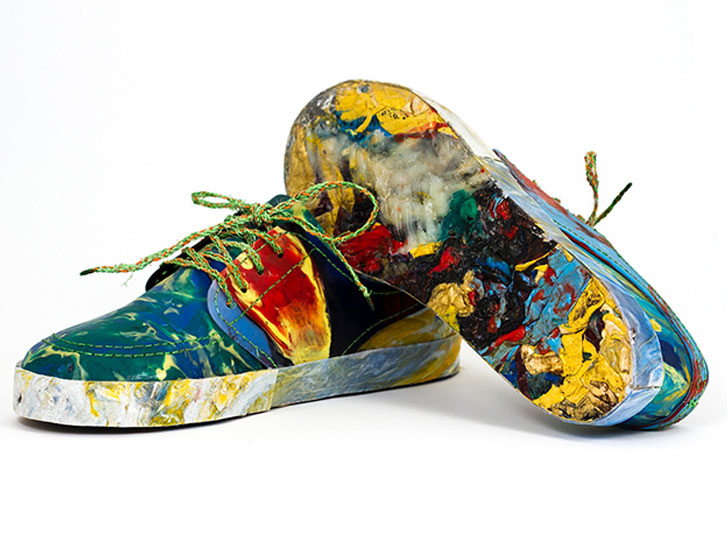 Make Yourself Brand New Shoes Using The Waste On The Beaches-