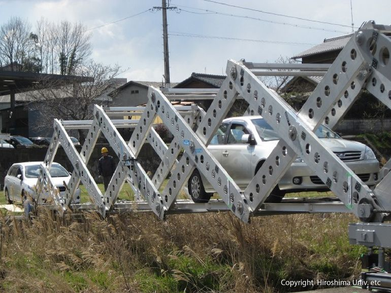 Origami-Inspired Bridge Can Be Setup In Record Time In Disaster Areas-1