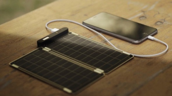Solar Paper Charger: An Ultra Thin Charger That You Can Fold To Carry In Your Pocket-