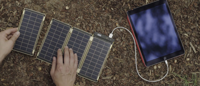 Solar Paper Charger: An Ultra Thin Charger That You Can Fold To Carry In Your Pocket-2