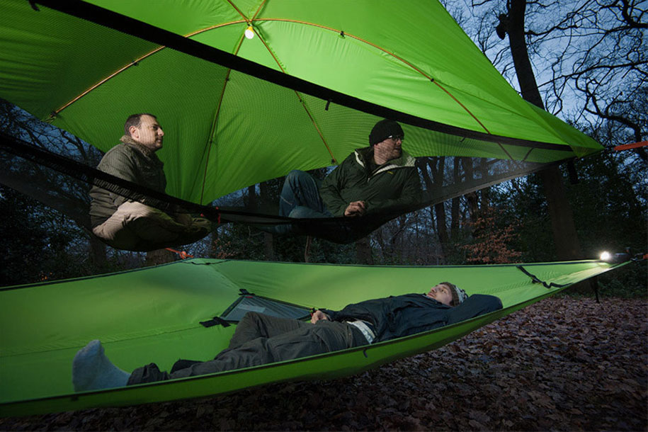 Tenstile: New Comfortable Camping Tents Are Suspended From Trees-4