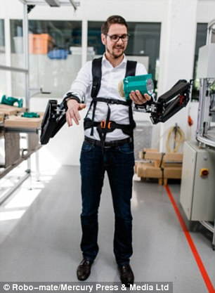 This Revolutionary Exoskeleton Turns Factory Workers Into SUPERHEROES-