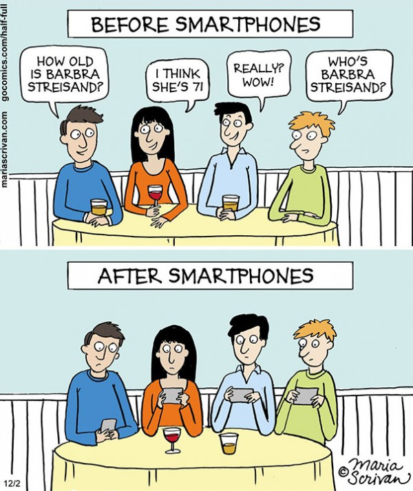 Top 31 Humorous Signs How Modern Gadgets Have Changed The World-8