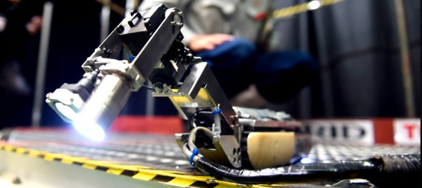 Toshiba's Revolutionary Scorpion Robot To Explore The Fukushima Reactor-