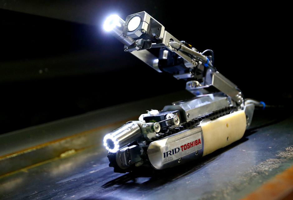 Toshiba's Revolutionary Scorpion Robot To Explore The Fukushima Reactor-1