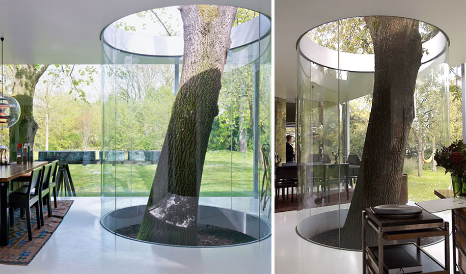 12 Green Tree Houses Built Around The Trees Without