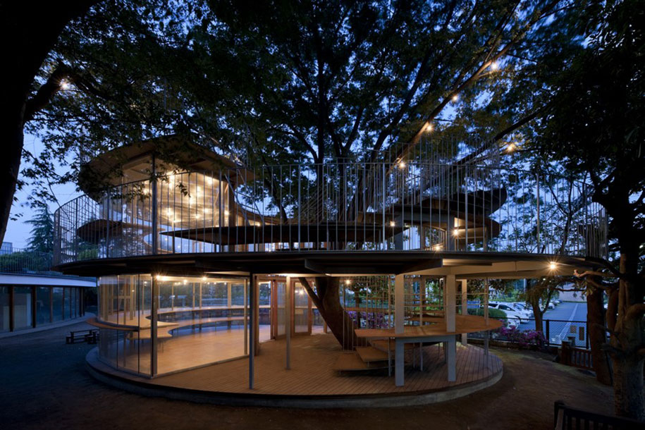 12 Green Tree Houses Built Around The Trees Without Cutting Them-2