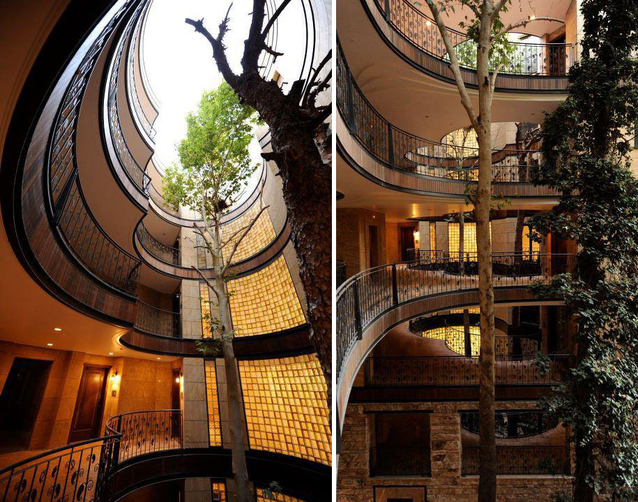 12 Green Tree Houses Built Around The Trees Without Cutting Them-6