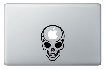 28 Geek Stickers With Apple Logo To Transform Your Mackbook's Look-