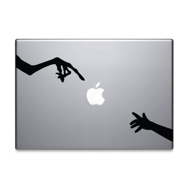 28 Geek Stickers With Apple Logo To Transform Your Mackbook's Look-23