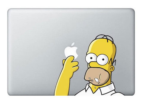 28 Geek Stickers With Apple Logo To Transform Your Mackbook's Look-24