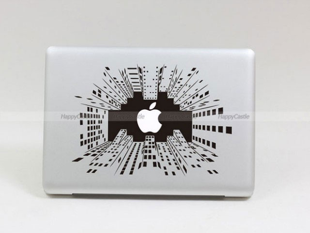 28 Geek Stickers With Apple Logo To Transform Your Mackbook's Look-9