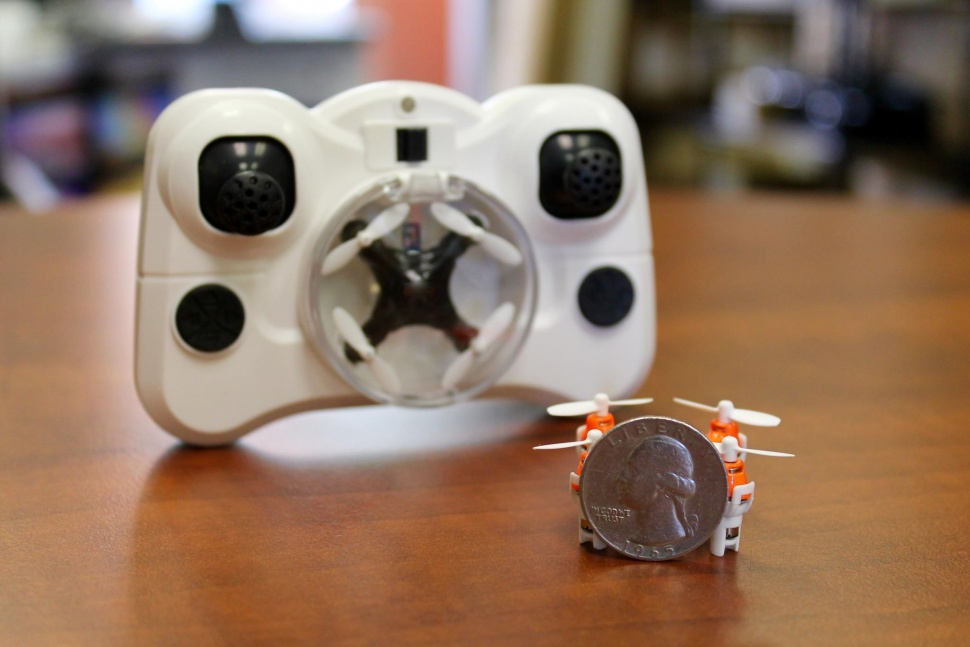 Aerius: Axis Designs World's Tiniest Quadcopter Size Of A Quarter-2