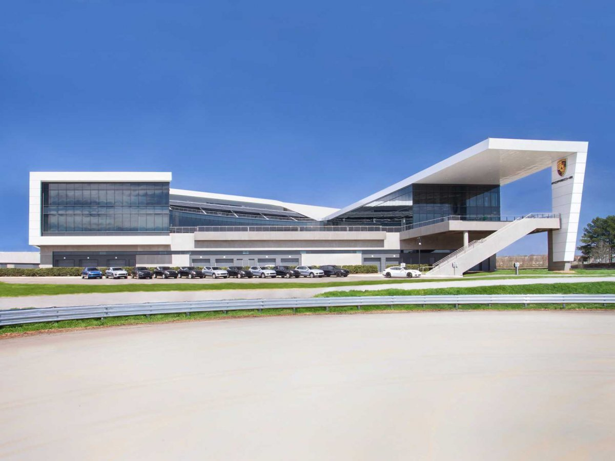 Amazing Photos Of Porsche's Glossy $100-million Headquarters In Atlanta-1