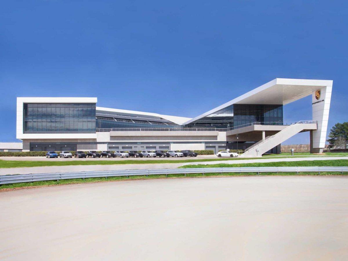 Amazing Photos Of Porsche's Glossy $100-million Headquarters In Atlanta-1
