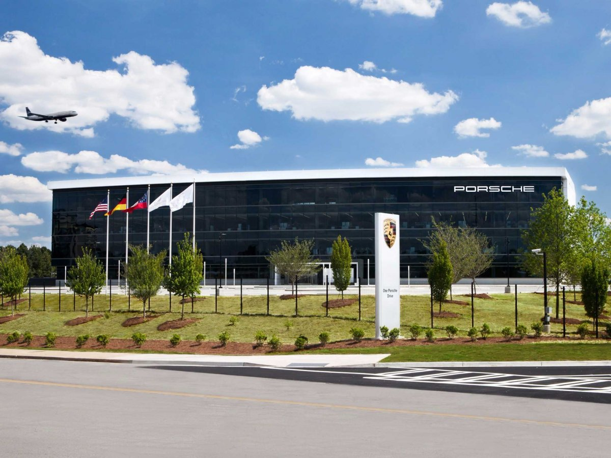 Amazing Photos Of Porsche's Glossy $100-million Headquarters In Atlanta-2