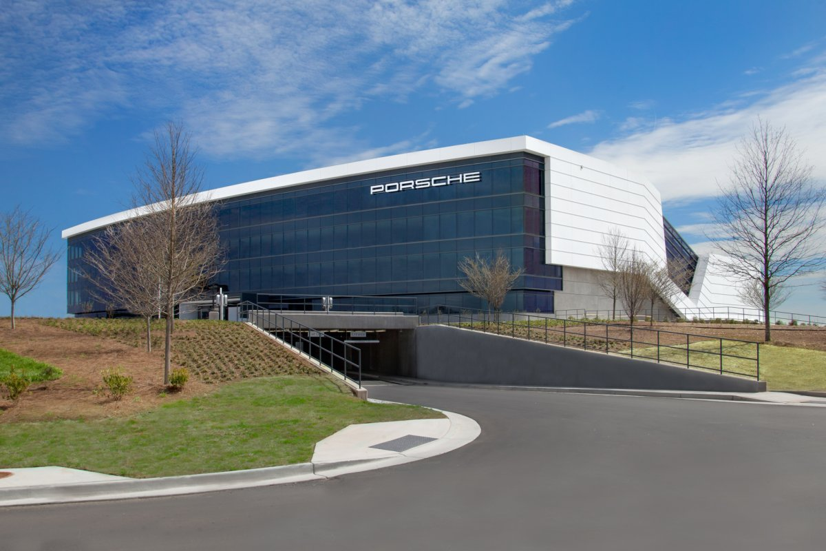 Amazing Photos Of Porsche's Glossy $100-million Headquarters In Atlanta-20