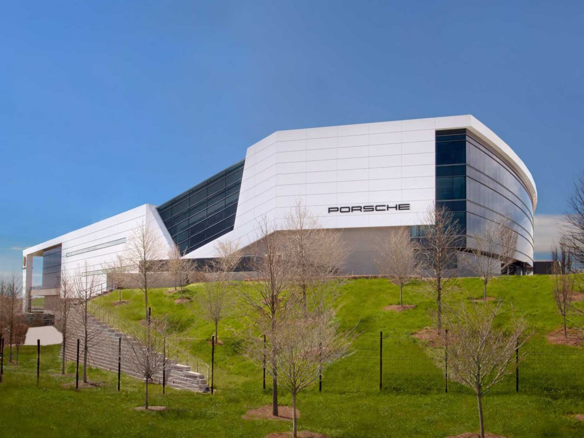 Amazing Photos Of Porsche's Glossy $100-million Headquarters In Atlanta-3