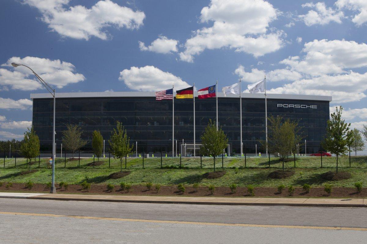 Amazing Photos Of Porsche's Glossy $100-million Headquarters In Atlanta-7