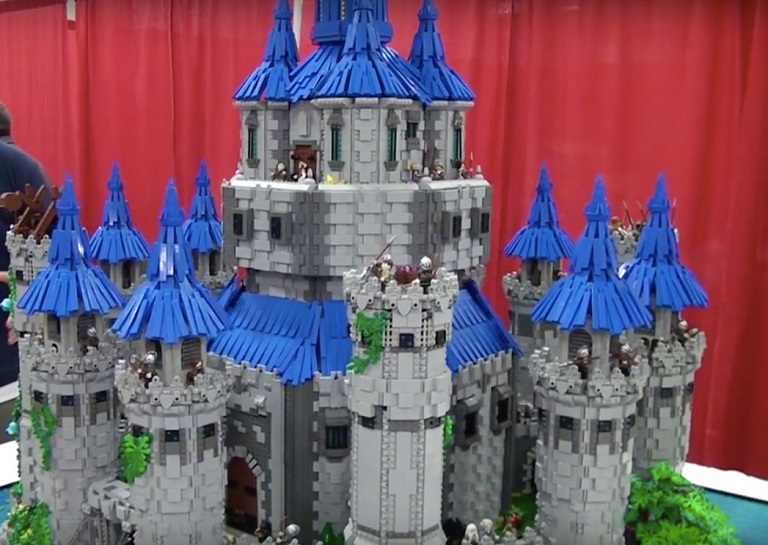 An Incredible Replica Of Hyrule Castle Built By A 19 Year Old-